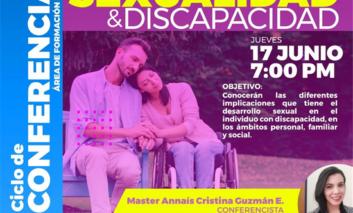 Invita Gobierno Municipal a participar en conferencia sobre sexualidad y discapacidad