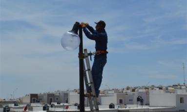 Repara Gobierno Municipal 805 desperfectos en sistema de alumbrado en lo que va de junio