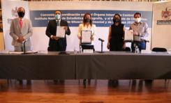 Firma Municipio convenio de coordinación con INEGI para uso del sistema Sí Declara