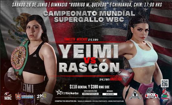 Participarán siete boxeadores locales en evento del Consejo Mundial de Boxeo el sábado 26 de junio