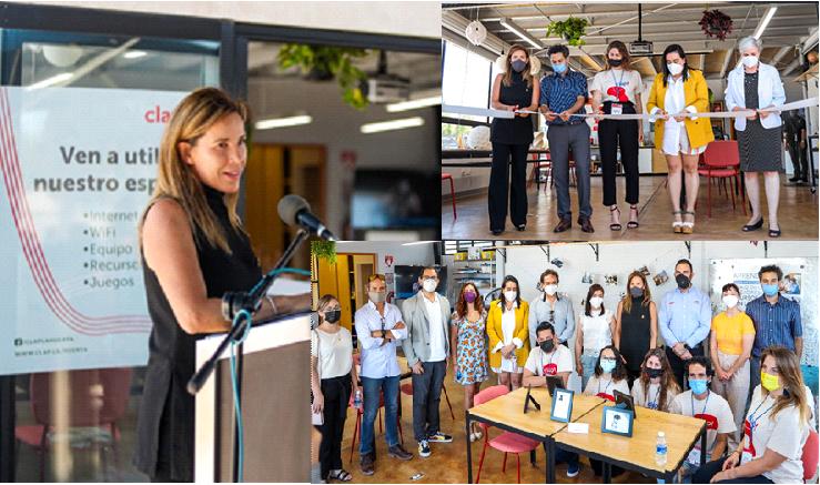 Inaugura Gobierno Municipal el primer Centro Local de Aprendizaje en Parque Fundadores