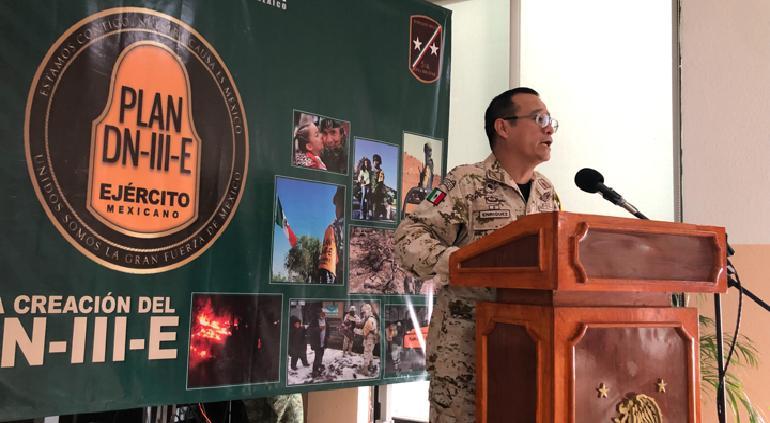 Aplica Ejercito Plan DN-III en Chihuahua