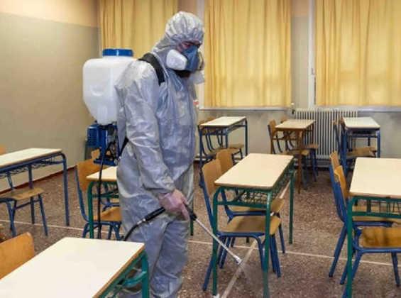Anuncia Gobierno inversión de 12 mdp para sanitización de escuelas