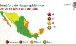 Chihuahua permanece en Semáforo de Riesgo Epidémico Amarillo: Salud Federal