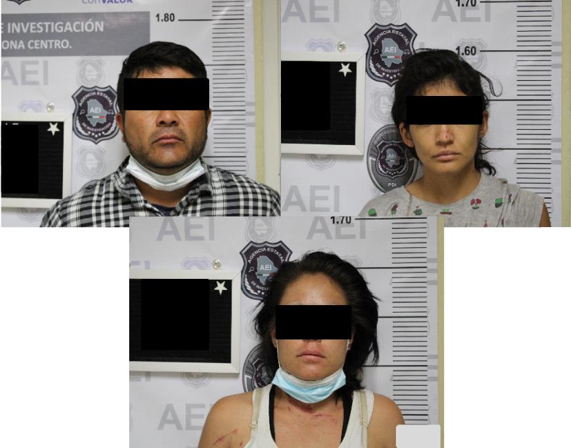 Detienen a cuatro por el robo con violencia de una pick up en Chihuahua