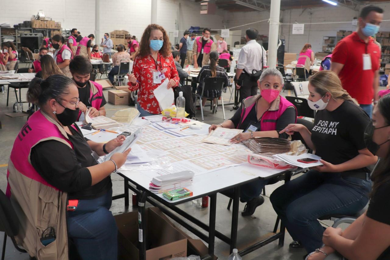 Inician cómputos distritales de la elección de diputaciones federales en Chihuahua