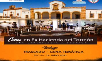 Invitan Gobierno Municipal y City Express Plus a cena temática en Ex Hacienda del Torreón