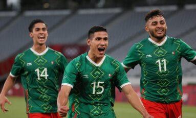 Golea México 4-1 a Francia en los Juegos Olímpicos de Tokio 2020
