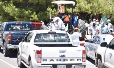 Se manifiestan productores frente a Juzgados Federales y piden liberación de Valles
