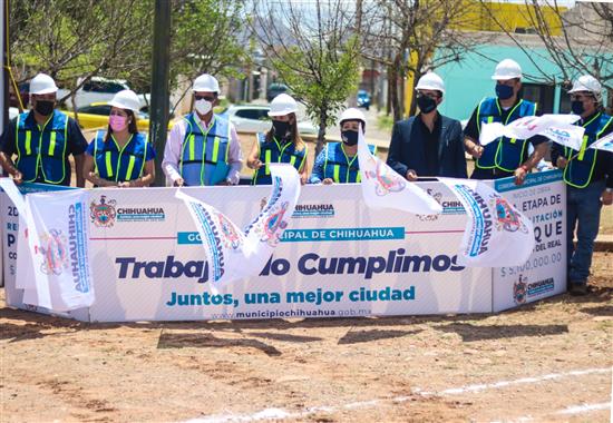 Inicia Alcaldesa 2da etapa de rehabilitación en parque de Villas del Real; inversión de 5 mdp