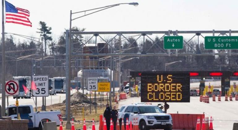 Frontera terrestre México-EU continuará cerrada por lo menos dos meses más