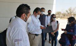 Arriban especialistas del IMSS para iniciar proyecto hospitalario en el hipódromo y galgódromo de Juárez