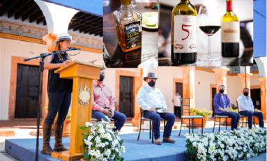 Inaugura Alcaldesa Museo del Vino y del Sotol en la Ex Hacienda San José del Torreón