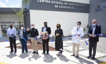 Inauguran Centro Estatal de Cancerología; inversión de 164 mdp