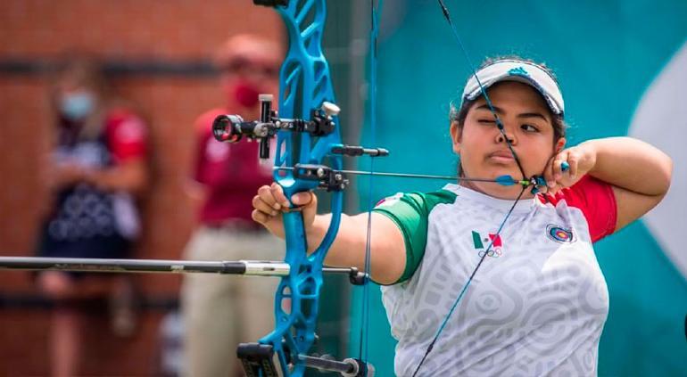 Mexicana de 17 años ganó el oro en mundial de tiro con arco