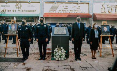 Conmemora Gobierno Municipal a bomberos caídos en cumplimento de su deber
