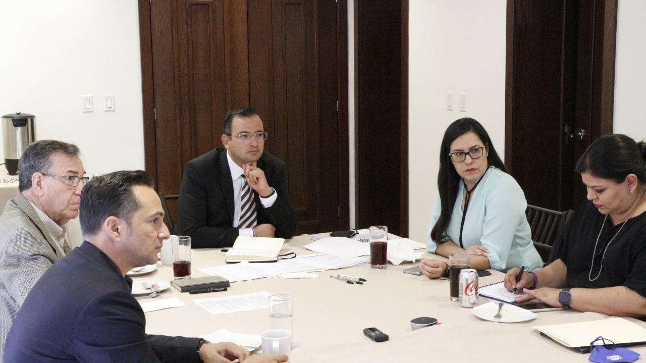 Encabeza Marco Bonilla sesión ordinaria de la Comisión Ejecutiva del IMPLAN