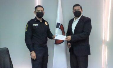 Se reúne director de Seguridad Pública Municipal con representantes de CANACINTRA