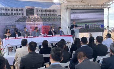 Colocan primera piedra de nueva inversión industrial por 300 MDD; generará 5 mil empleos directos en Juárez