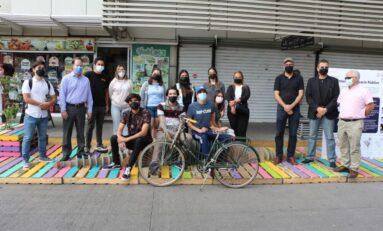 Promueve Instituto de Planeación Integral del Municipio acciones para reducir uso de vehículos en la ciudad