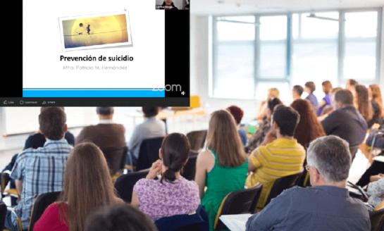 Participan más de 300 estudiantes en conferencia virtual Prevención del suicidio