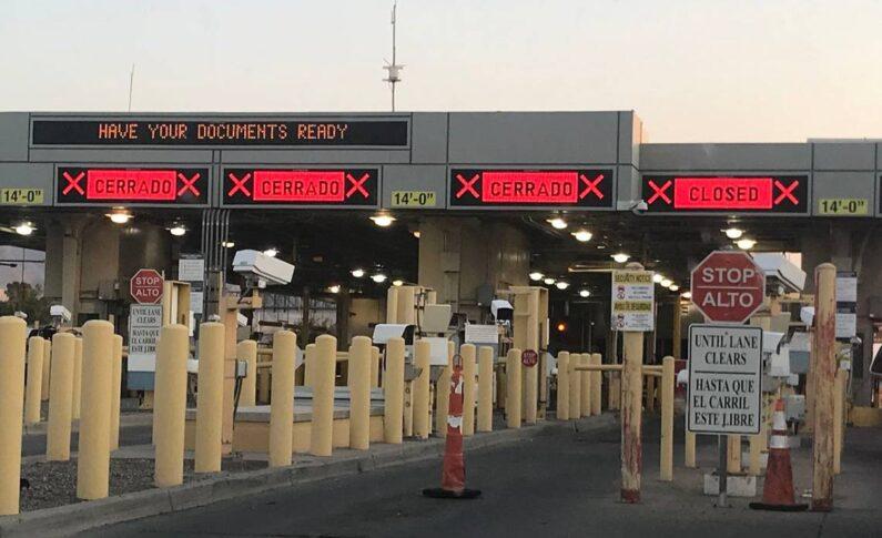 Extiende EU cierre de la frontera con México al 21 de octubre