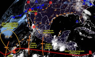 Se acerca frente frío a Chihuahua con descensos de temperatura y lluvias