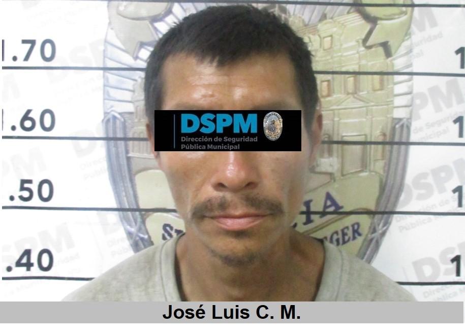 Lo detienen con vehículo con reporte de robo en el Lombardo Toledano