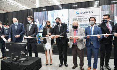 Inaugura Alcalde nueva planta SAFRAN en la ciudad; generará 600 empleos directos