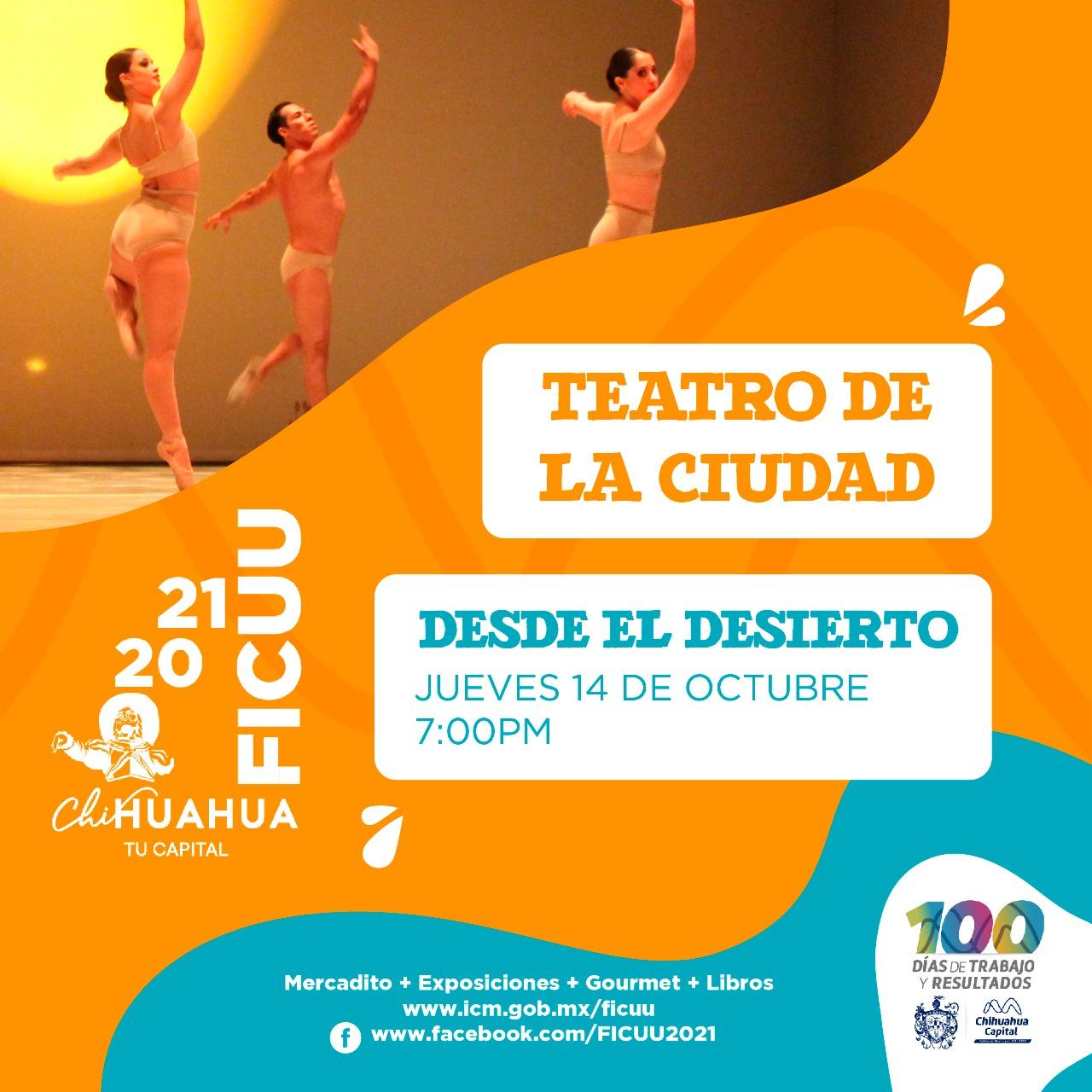 Inicia FICUU entrega de boletos para obras del Teatro de la Ciudad