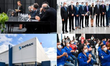 Inaugura Gobierno de Maru nueva planta Safran en Chihuahua; inversión de 1.8 mdd y la generación de 180 nuevos empleos