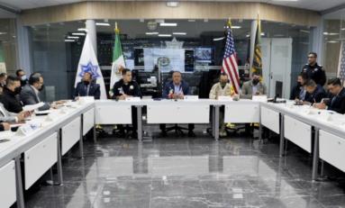 Participa Secretario de Seguridad Pública Estatal en reunión de Protocolos de Violencia Fronteriza