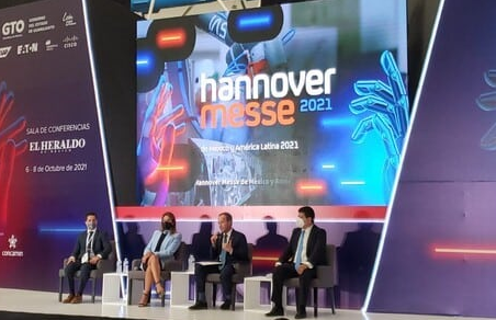 Participa Gobierno del Estado en feria internacional Hannover Messe ITM 2021