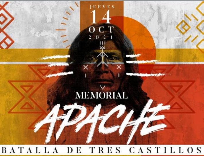 Invita Gobierno del Estado a conmemorar la Batalla de Tres Castillos con Memorial Apache
