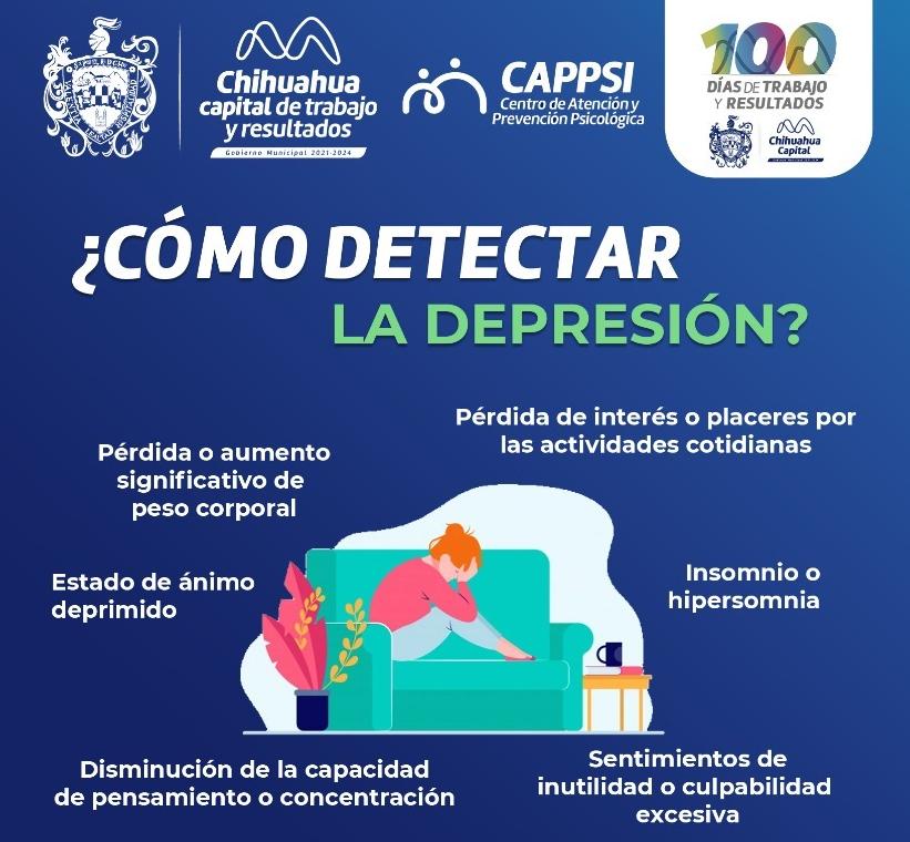 Refrenda Gobierno Municipal atención a la salud mental de los chihuahuenses