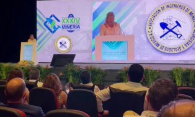 Chihuahua presente en la XXXIV Convención Internacional de Minería; asiste Maru Campos a inauguración
