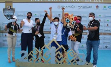 Cierra Chihuahua con un total de 5 medallas en Paranatación de los Juegos Paranacionales 2021