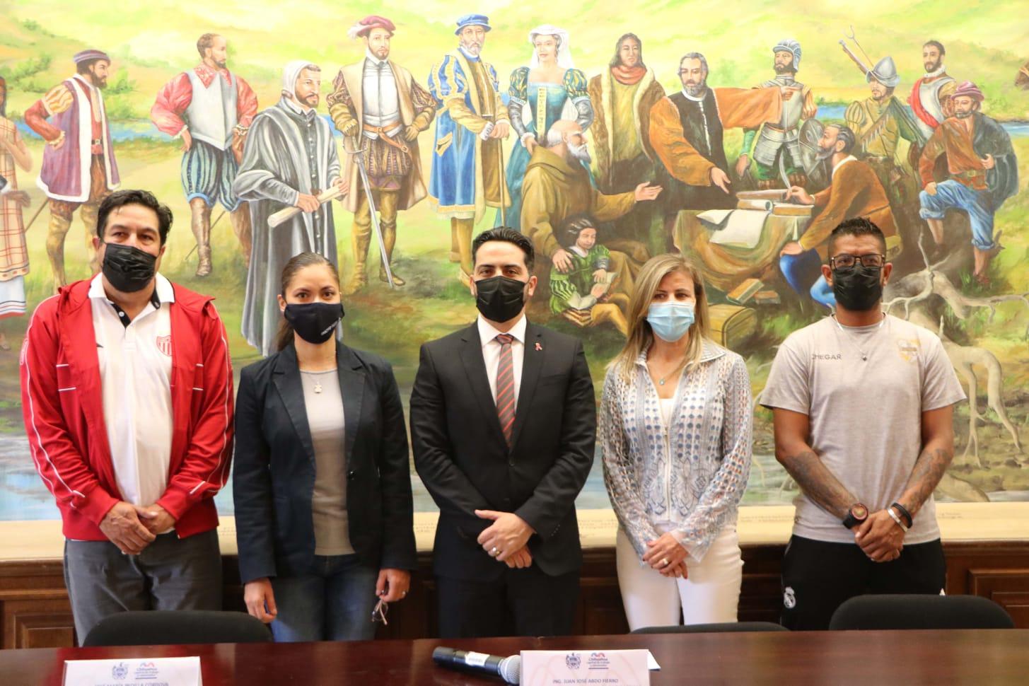 Invita Gobierno Municipal a las visorías de fútbol del Necaxa en Chihuahua
