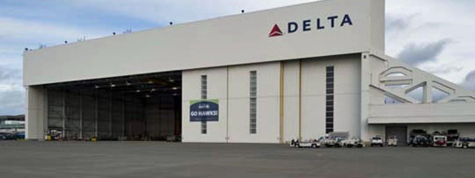 Delta Airlines Hanger Remodel