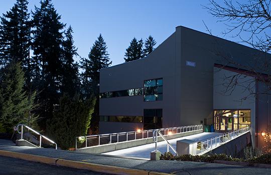Lake Washington Tech Outside Lighting Project