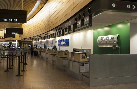 Port of Seattle SEATAC Ticket Counters