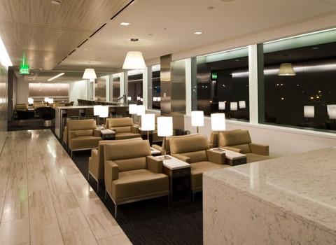 United Club Lounge – SEATAC