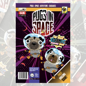 Pugs in Space – Issue 01 Print version