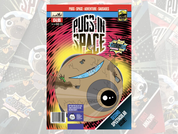 Pugs in Space- Issue 02 (Pre-order) Print Version