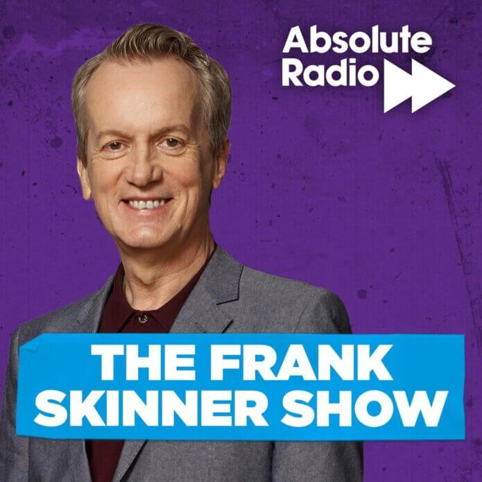 The Frank Skinner Show on Absolute Radio promotional poster