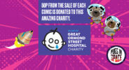 Pugs in Space comic book partnership with Great Ormond Street Hospital