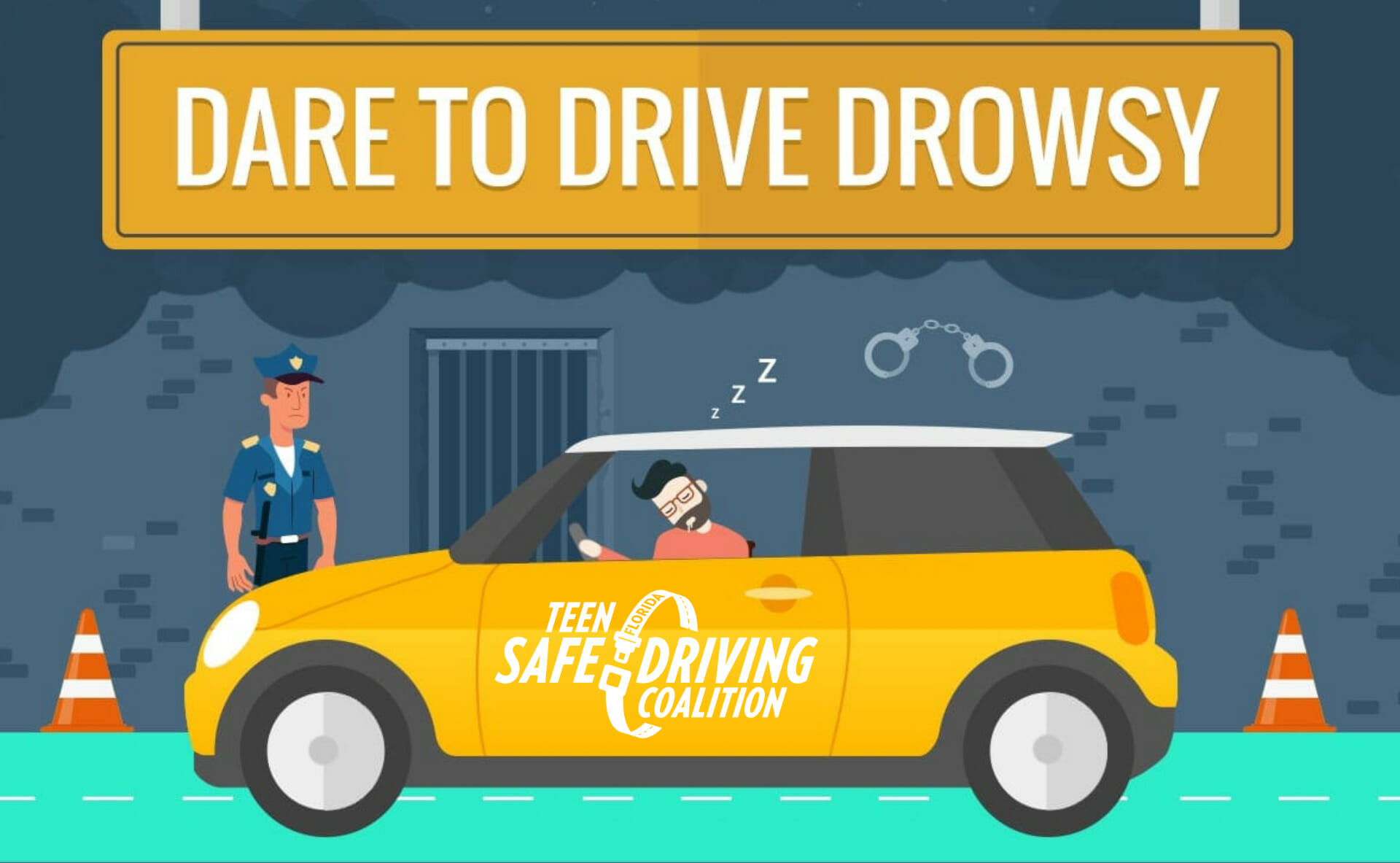Drowsy Driving Infographic