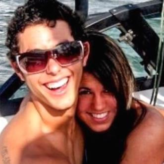 Laura & Eddie on a boat