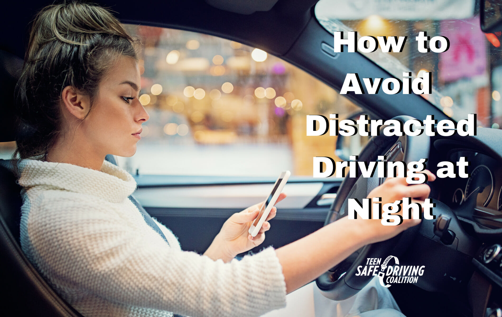How to Avoid Distracted Driving at Night