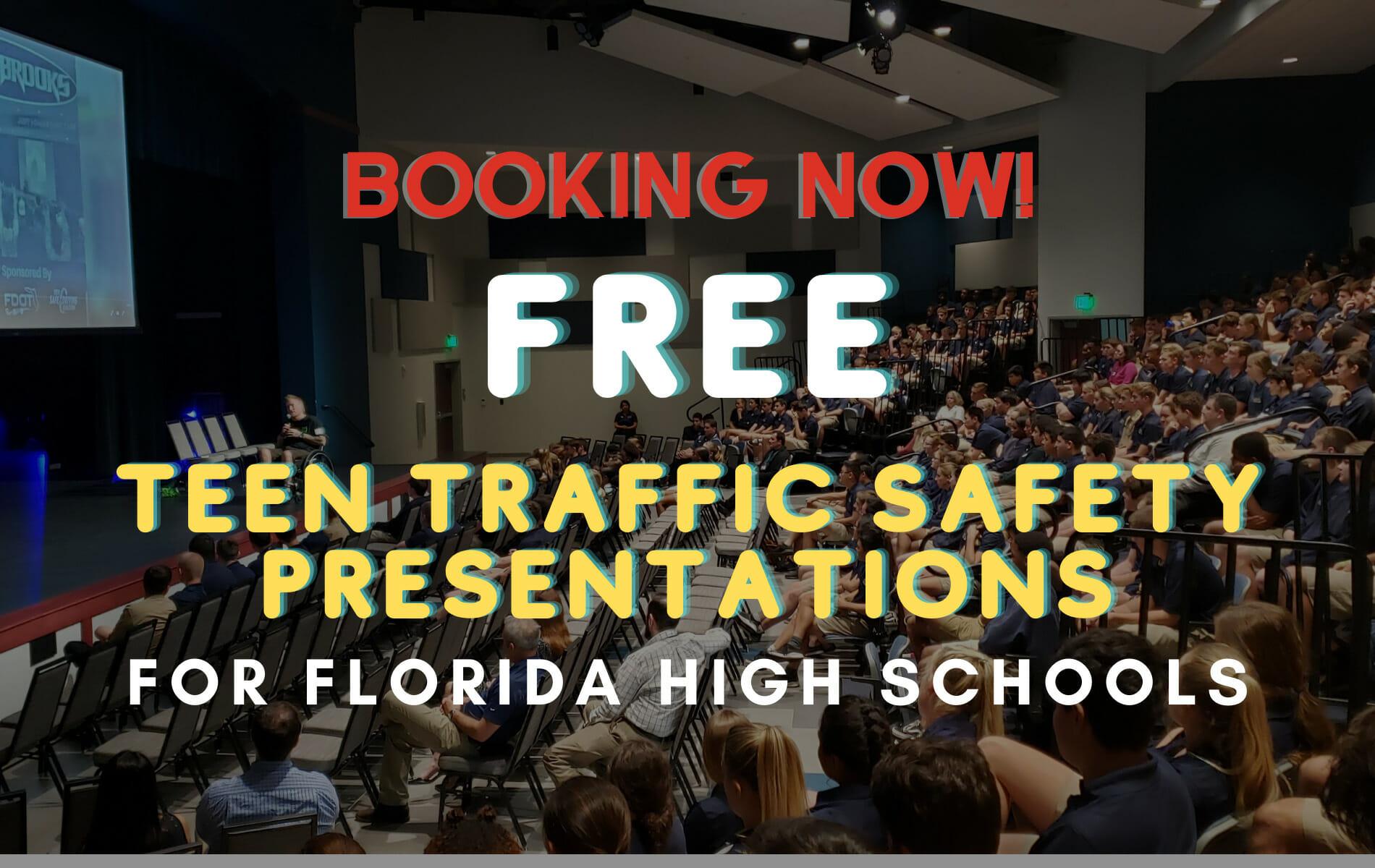 FREE Teen Traffic Safety Presentations for Florida High Schools